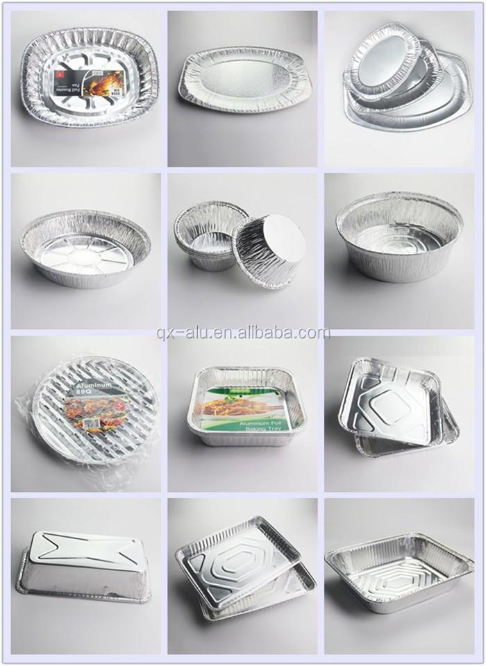 Full size shallow aluminum table pan