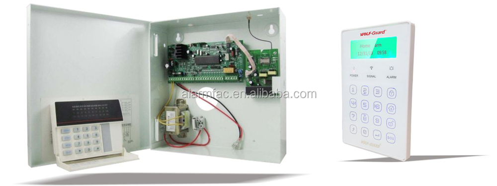 Wired Alarm System | Wired Alarm System With Metal Box And Transformer Alike Paradox