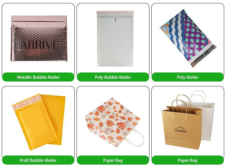 Envelopes Coloridos Sacos De Discussão De Plástico 5x10 Fábrica Costume Impresso Utentes Poli Brilhante Impressão Folha Azul Metálico Bolha Mailer