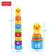 Zhorya colorful plastic speed game baby stacking cups toys for kids