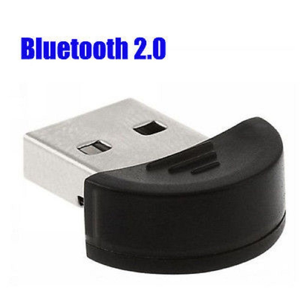Simply Silver - New Portable Wireless Bluetooth Mini USB 2.0 Dongle Adapter Receiver PC Laptop - Unbranded