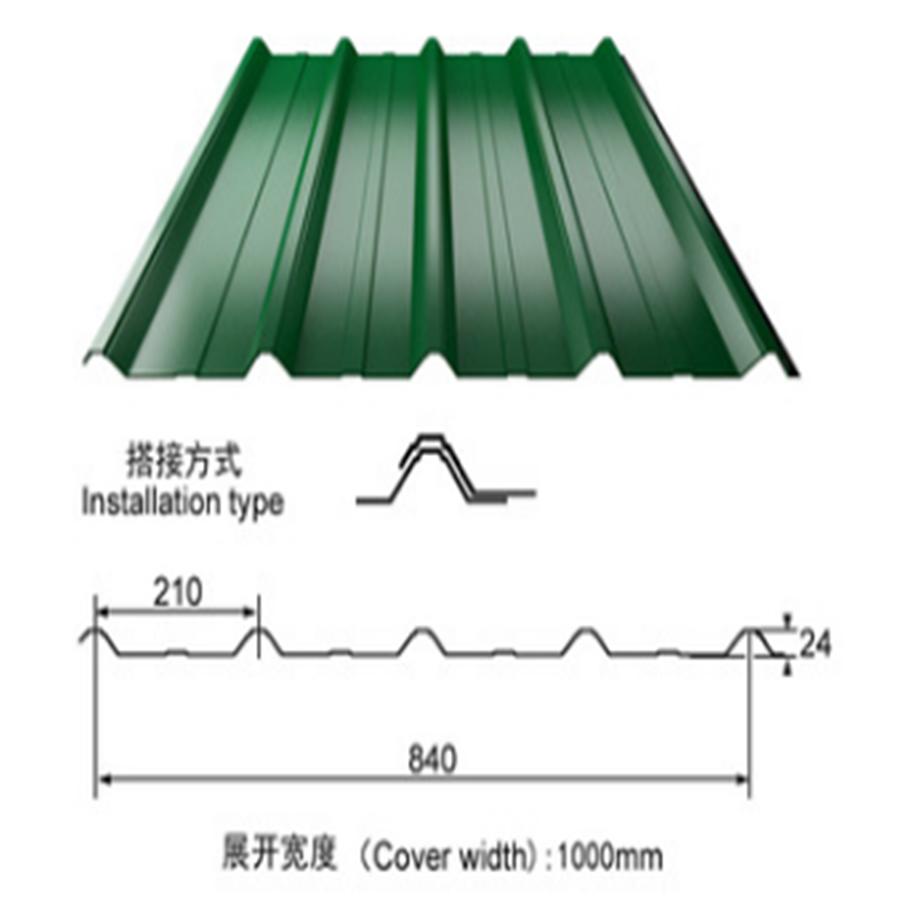 cheap price roofing sheet making machine
