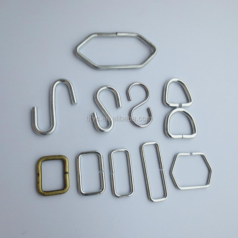 Metal Steel Wire Form Loop Adjuster D Ring,O Ring,Butt Welded - Buy ...