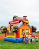 Monster Truck Bouncer House, commercial bouncy house for kids