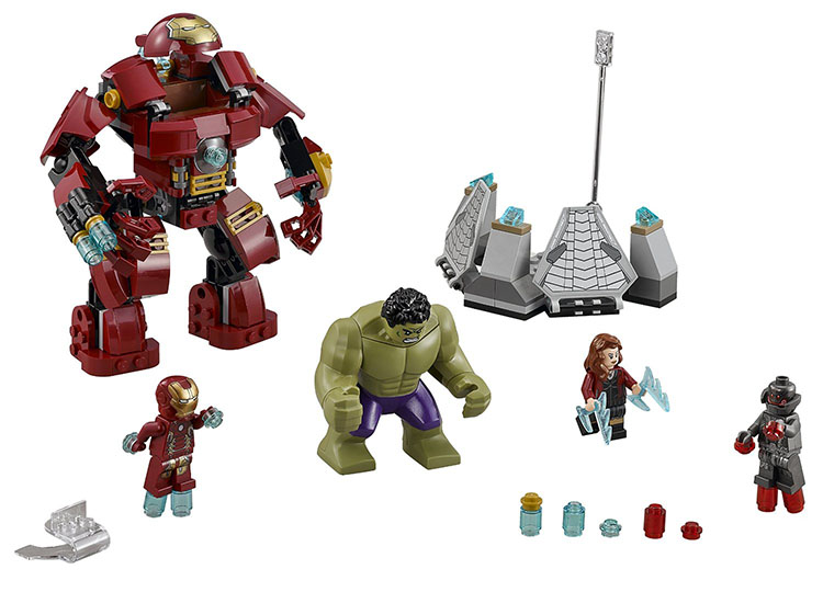 UKLego Marvel Super Heroes Avengers Building Figures Iron Man Toy.