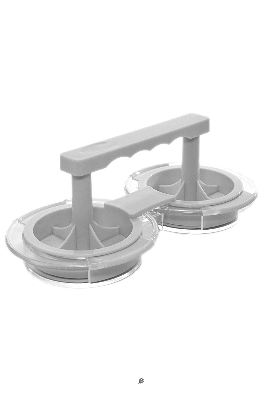 BPA-Free Mini Hamburger/Slider Patty Double Press Burger Maker
