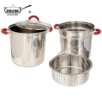 Wholesale Professional Strainer Lid Pasta Cooking Pot Set Buy