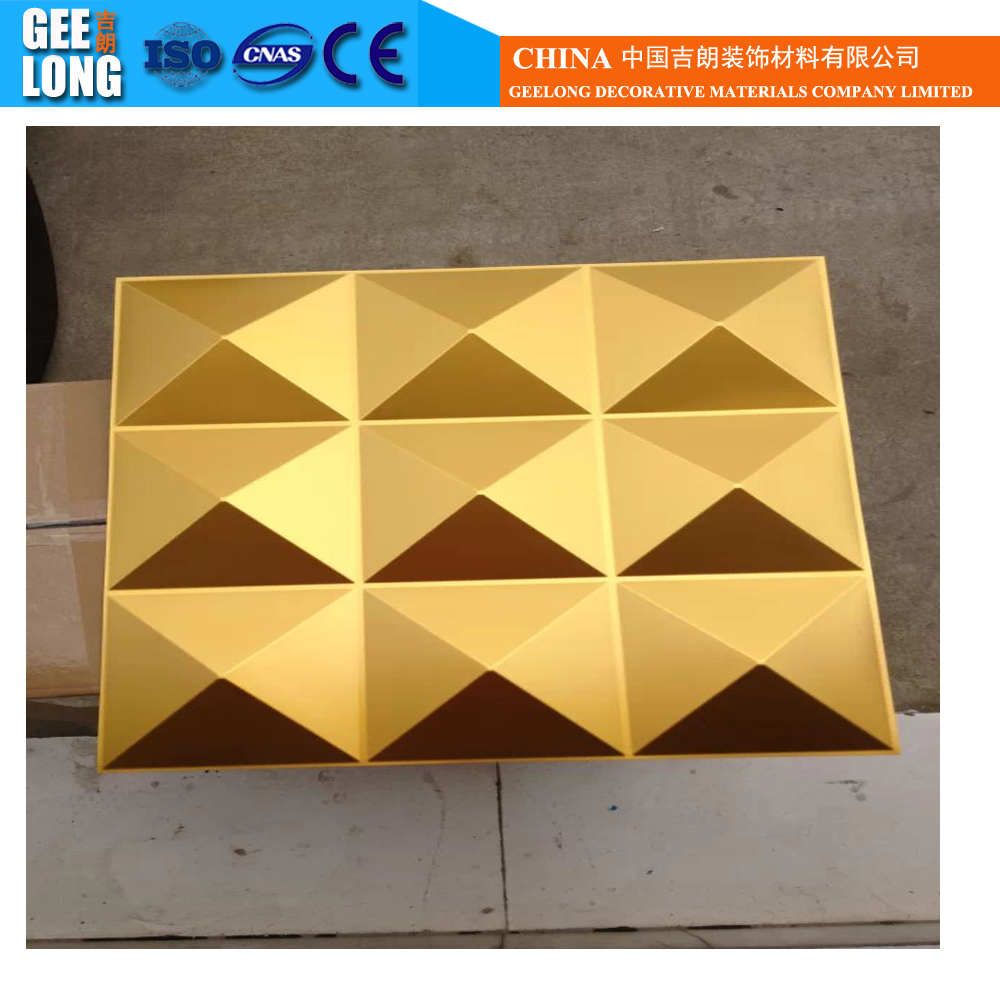 Different Color Decorative Pvc 3d Wall Panel And Pvc 3d Wall Board ...