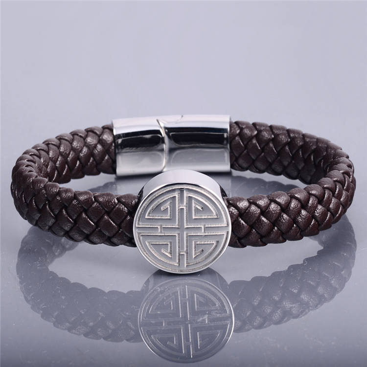 Hot Gifts Magnetic Leather Bracelet Parts