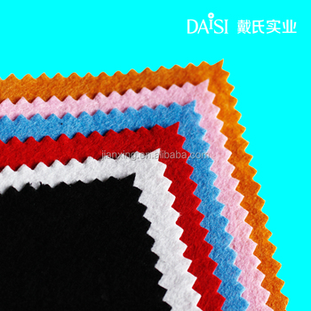 felt 1mm 100%polyester fabric nonwoven felt for garment interlining and shoes Trade Assurance supplier