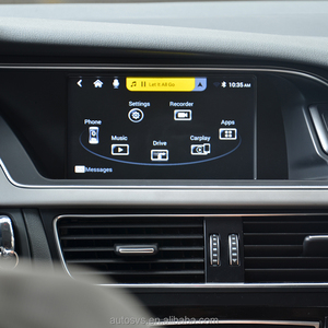 Camera Interface with Dynamic Parking Guide Carplay Box for Original Screen  Upgrade MMI system audi a4 b6