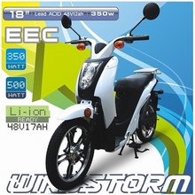 POWFU Windstorm - EEC contemporary industrial three wheel electric scooter, original manufacturer of electrical scooter for sale