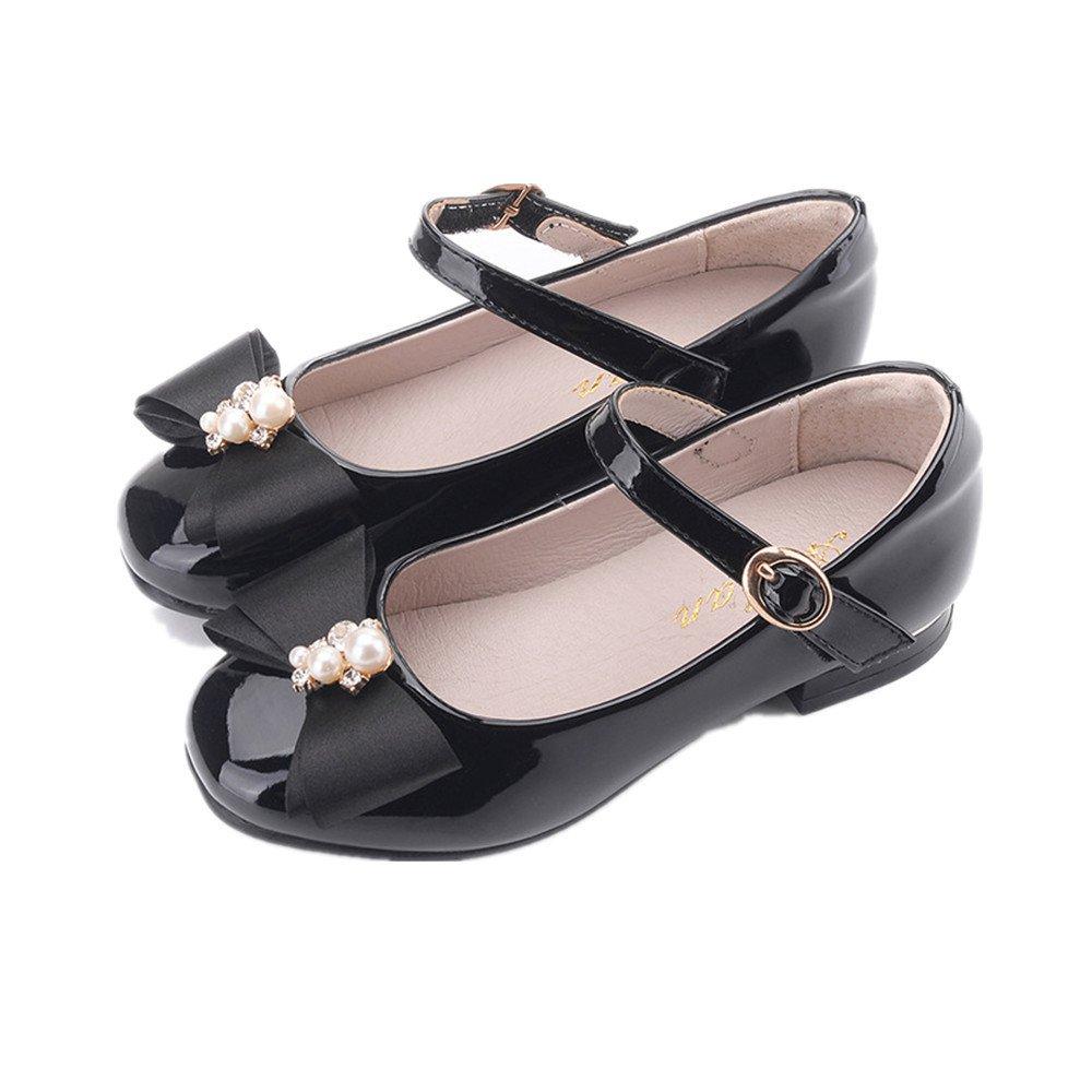 456b3b665 Get Quotations · Girl s Shoes Flower Ballet Flat Dress Shoes Princess Shoes  (Toddler Little Kid Little