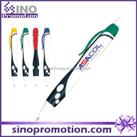 bank promotional pens clear plastic pen tubes high quality promotional writing instruments