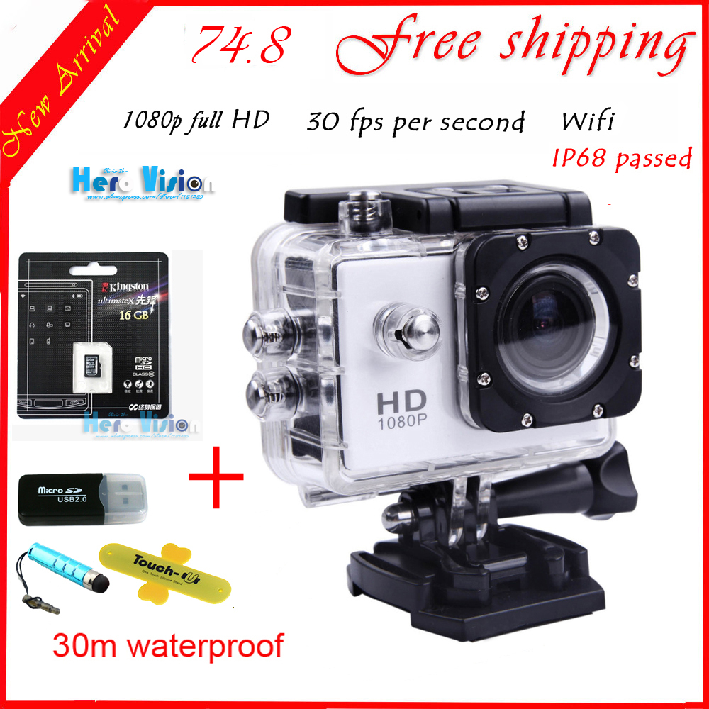 Original Gopro-like SJ4000 WiFi Digital Camera Style 1080P FullHD Camera Photos