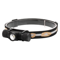Removable Headband Headlamp Dimmable Headlight USB Charging Head lamp L2 LED