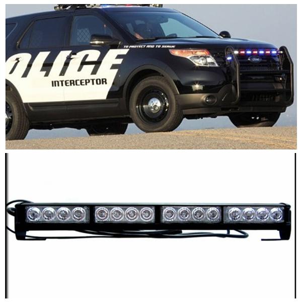 High Power Led 12v Police Car Led Roof Light Bar
