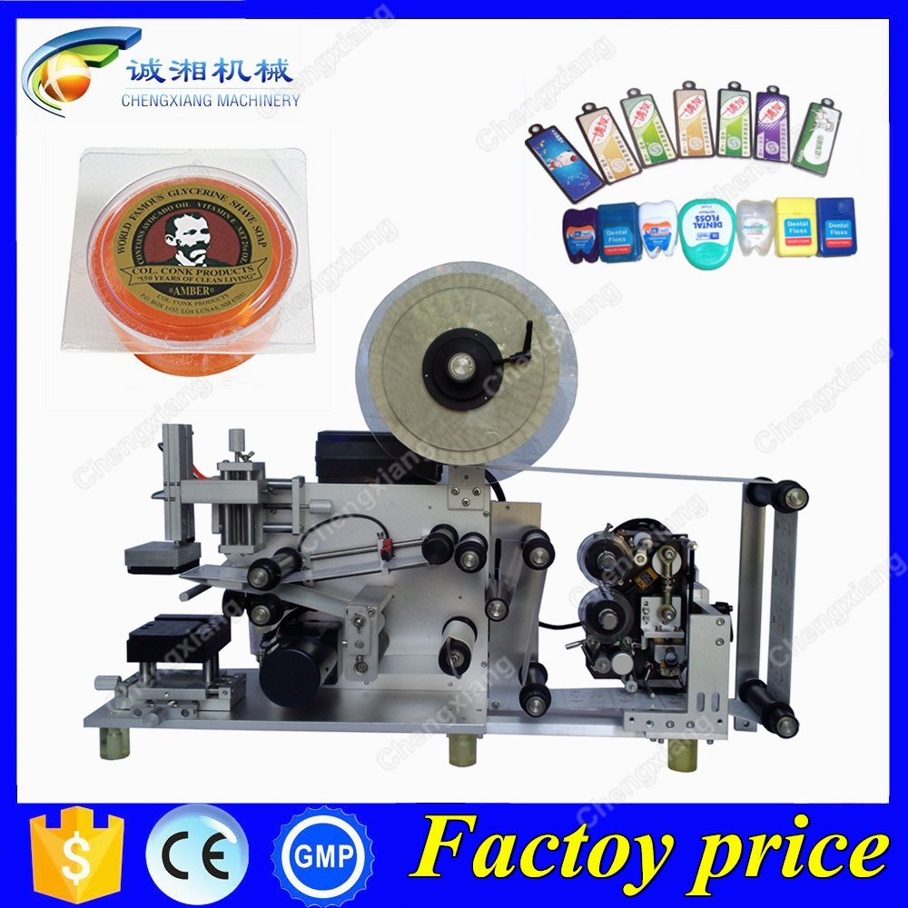 Low Price semi labeling machine chocolate box