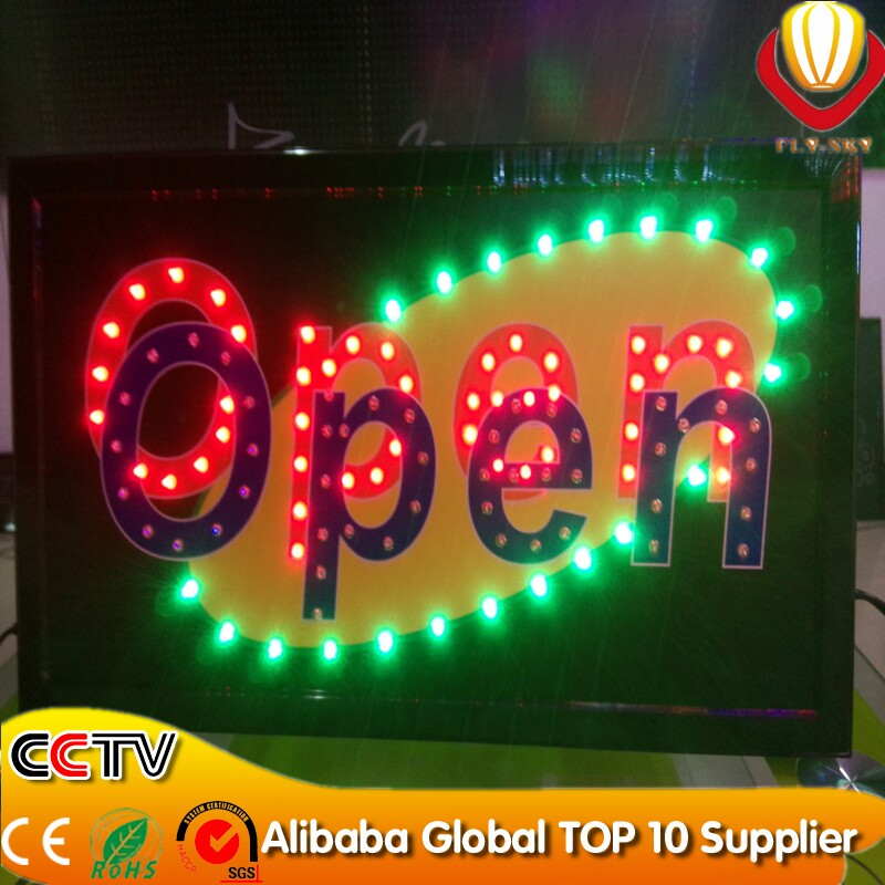 Ali Express Led Superbright Customized Led Nails/nail Signs Pannel ...