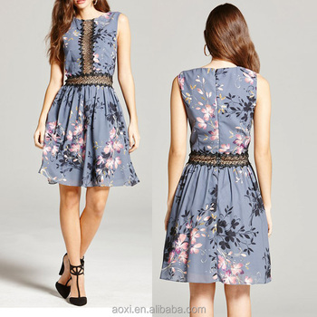 f4a0582462b41 Oem Clothes Factory New Styles Floral Print Mesh Latest Design Ladies  Western Style Dress - Buy Western Style Dress,Ladies Western Style  Dress,Latest ...