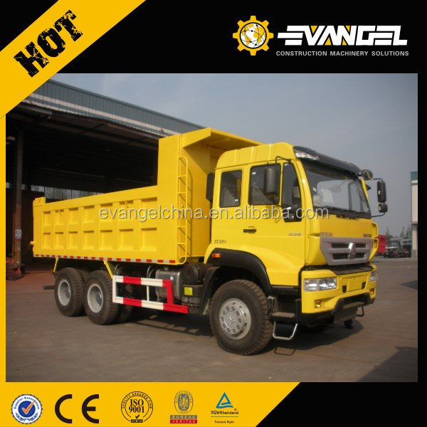 336hp sinotruk howo dump trucks automatic transmission for sale