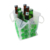 Bottle cooler easy to carry out six bottles of beer ice pack