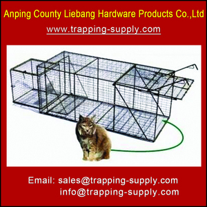 Rabbit Squirrel Weasel Skunk Trap Cage Catch With Live Lure
