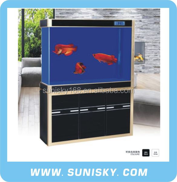 Large aquarium glass fish tank with cabinet JS-1000HDL