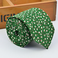 made to order green men happy holiday funny ties