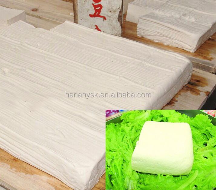 150-180kg/h Bean curd tofu mold pressed maker equipment grinding & boiling & molding machine