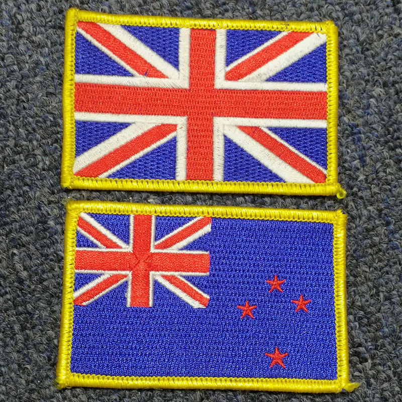 Country flag Embroidery patch GFT-E516