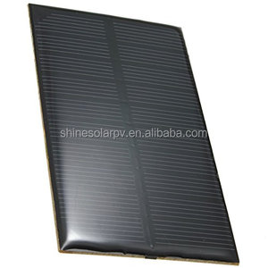 5 V 1W camping solar panels education tools monocrystalline silicon solar laminate DIY solar panels