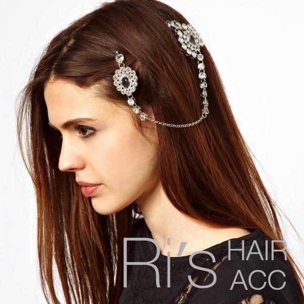 RETAIL vintage rhinestone unique hair clips for women ...
