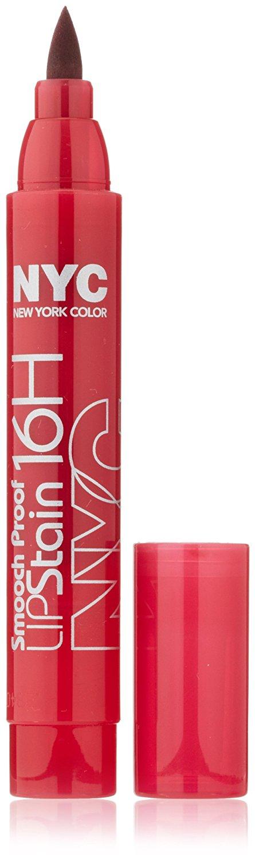 New York Color Smooch Proof Lip Stain, Smooch Proof, 0.1 Fluid Ounce
