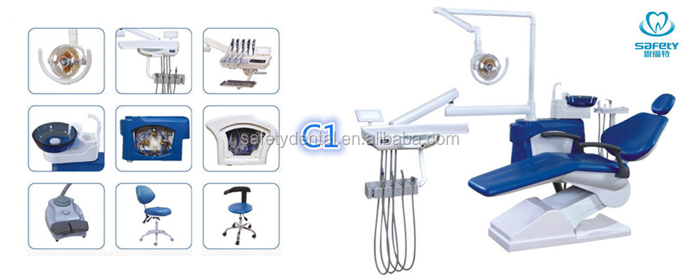 2018 Hot Sale High Quality Economic Series New Model C1 DEntal Chair Unit With CE