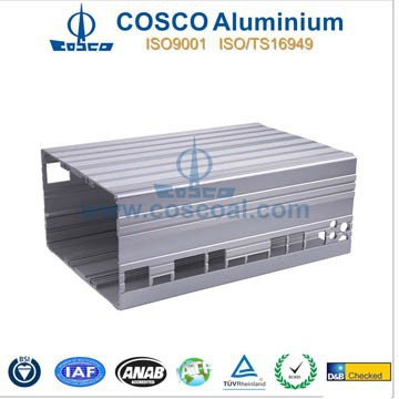 aluminium box section enclosure