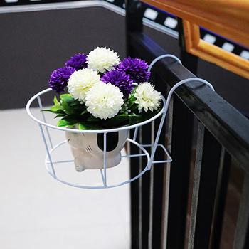 Balkon Garten Metall Eisen Blumentopf Stehen Hangen Blumentopf