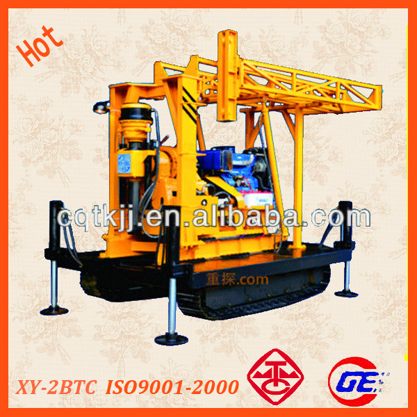 The wholesale price chinese multi-function powerful core portable mobile drilling rig with100-350m