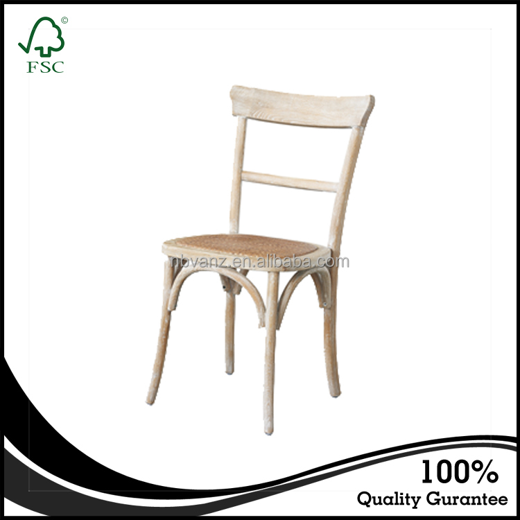 CDW16120 Vintage Industrial Furniture French Restaurant Vintage Dining Chair