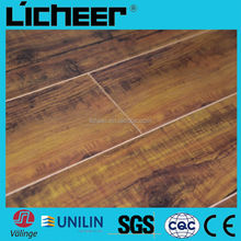 Laminate flooring manufacturers china middle embossed surface 8.3mm /easy click laminate floor