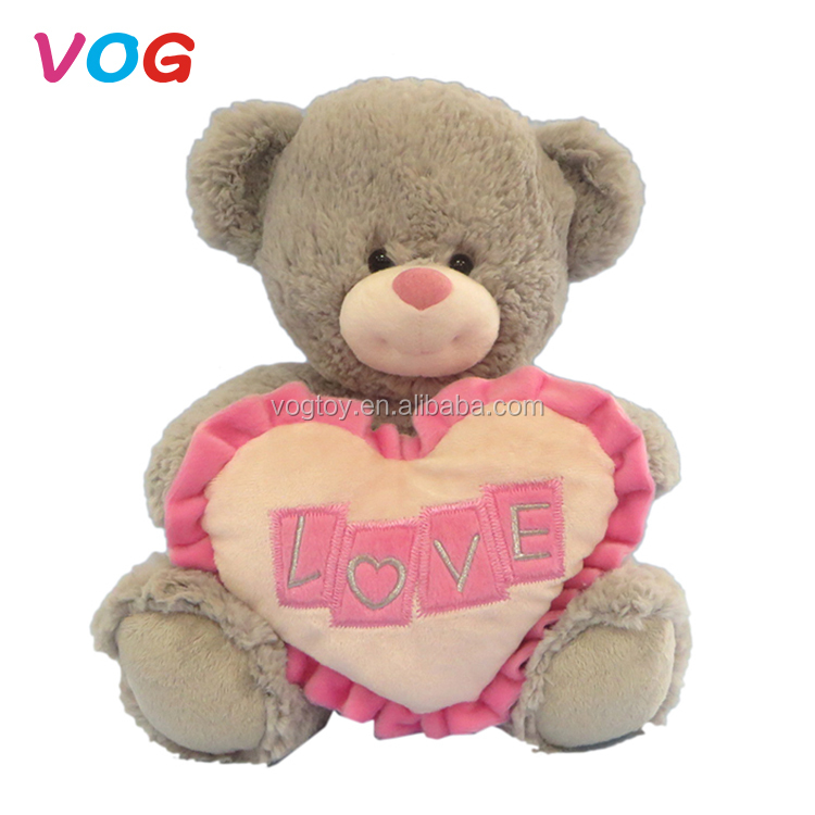 8de5a83c3cd2 Wholesale custom stuffed animal toys giant plush teddy bears valentine's  bear heart