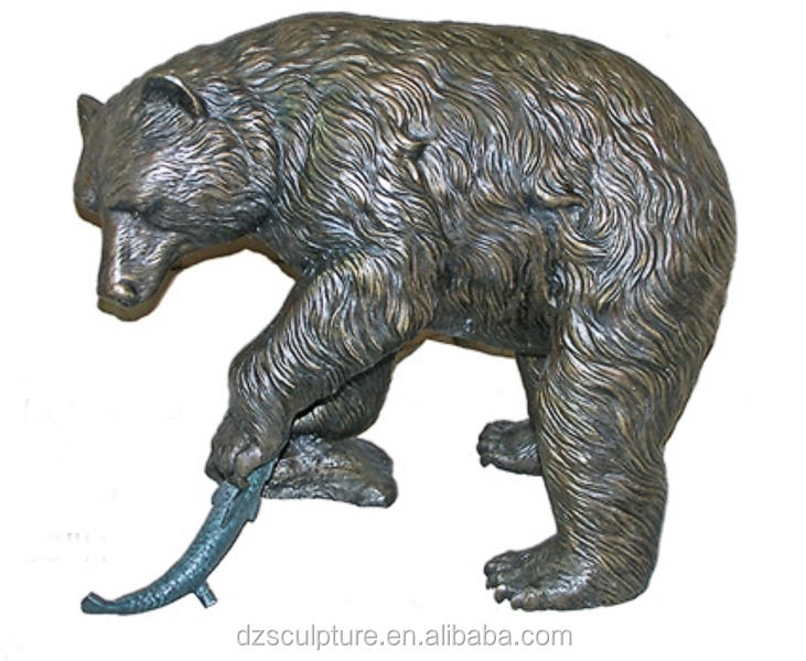 Bronze Bear Fish Statue, Bronze Bear Fish Statue Suppliers And  Manufacturers At Alibaba.com