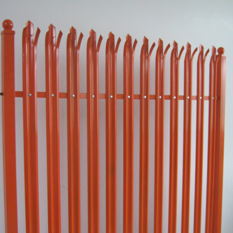 Anti-corrosive second hand palisade fence barrier for sale
