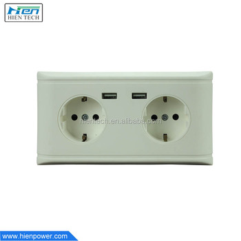 5v 2 0a double usb wall socket euro electrical 2 gang wall outlet rh alibaba com