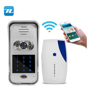 OEM IP/WIFI smart phone control commax doorbell walkie talkie intercom interphone video door phone wireless TL-WF02
