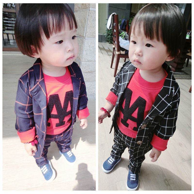 Wholesale Casual Kids Boys Clothes Sets Children Clothing Suits Bulk Buy From China