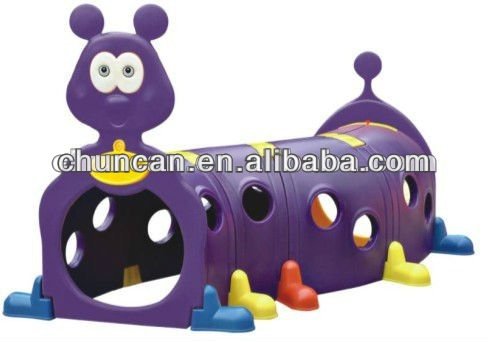 2015 caterpillar tunnel worm indoor play set children plastic toy tunnel climbing toys