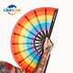 customized new style large folding hand fan