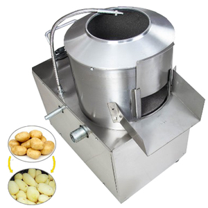 vegetable peeler and washer 2018 small electric potato carrot peeling washing cleaning machine for sale