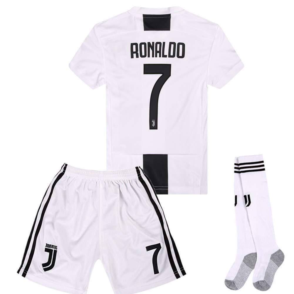 Get Quotations · BGMDKHY Juventus 18-19 Season Home  7 Ronaldo Kids Youth  Soccer Jersey   d8bd7d3f8